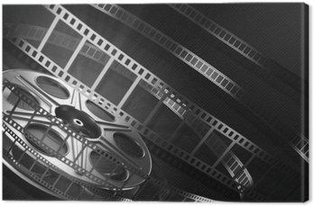 Canvastavla Cinema filmrulle