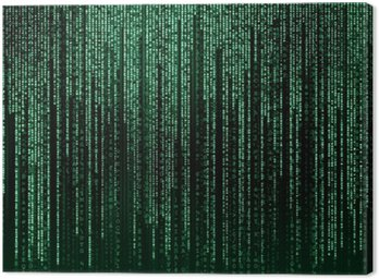 Canvastavla Digitala abstrakt bakgrund