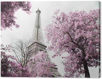 Canvastavla Eiffeltornet