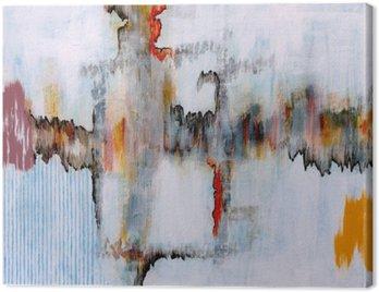 Canvastavla En abstrakt målning