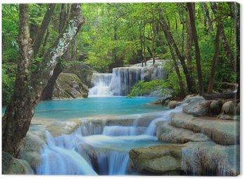 Canvastavla Erawan Waterfall, Kanchanaburi, Thailand