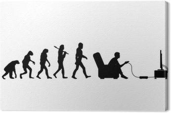 Canvastavla Evolution Gamer