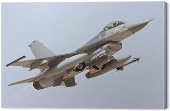 Canvastavla F-16 - Take Off