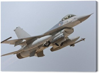 Canvastavla F-16 - Take Off