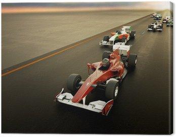 Canvastavla F1 Cars