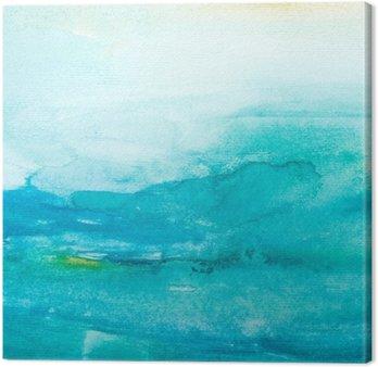 Canvastavla Färg stroke akvarellmålning konst