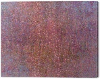 Canvastavla Färgrik texturerad bakgrund. retro textur