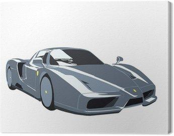 Canvastavla Ferrari Enzo Sportscar
