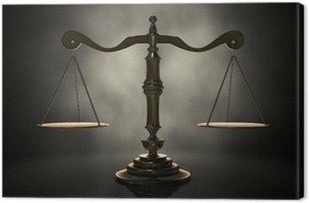 Canvastavla Fjäll av rättvisa