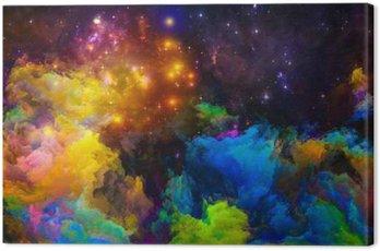 Canvastavla Förväg målad World