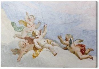 Canvastavla Fresco Wieskirche