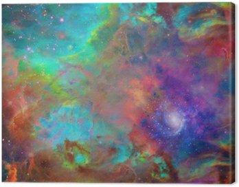 Canvastavla Galactic Space