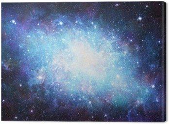 Canvastavla Galax
