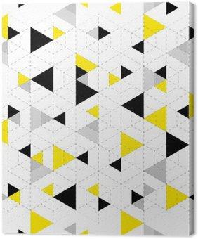 Canvastavla Geometriska mönster bakgrund
