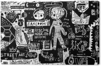 Canvastavla Graffiti
