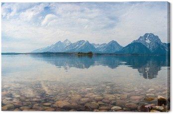 Canvastavla Grand Teton National Park