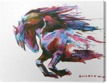 Canvastavla Häst