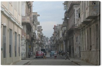 Canvastavla Havanna, Kuba