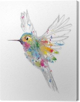 Canvastavla Hummingbird