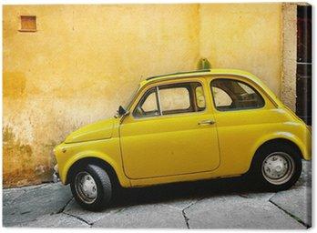 Canvastavla Italienska gammal bil