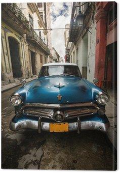 Canvastavla Kuba Vintage