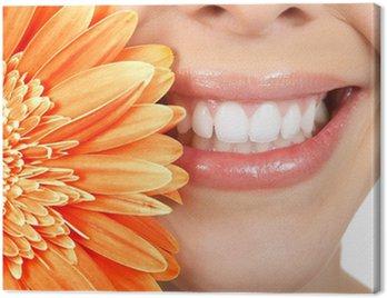 Canvastavla Kvinna tänder