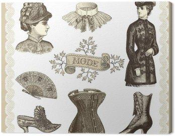 Canvastavla Läge 1900