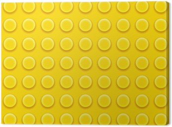 Canvastavla Lego block mönster