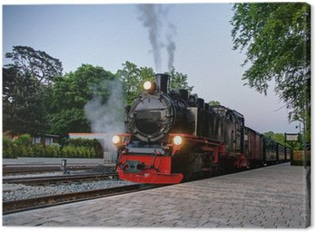 Canvastavla Locomotive