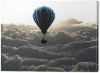 Canvastavla Luftballong på himlen