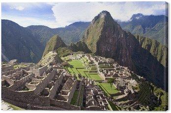 Canvastavla Machu Pichu Inca