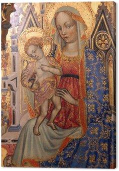 Canvastavla Madonna med barn