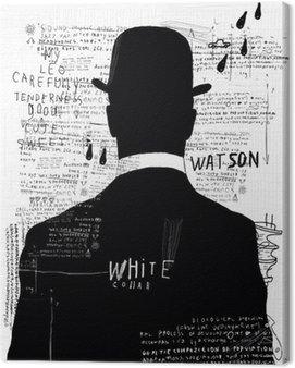 Canvastavla Mannen i hatten