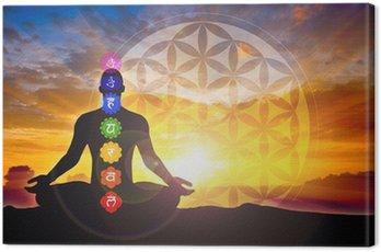 Canvastavla Meditation