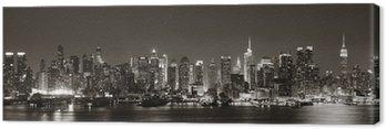 Canvastavla Midtown Manhattan Skyline