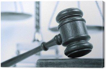 Canvastavla Monotone rättsligt begrepp