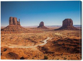 Canvastavla Monument Valley - USA