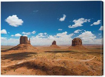 Canvastavla Monument valley
