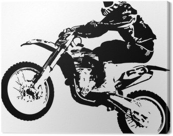 Canvastavla Motocross jumper