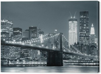 Canvastavla New York Brooklyn Bridge