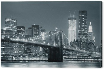 Canvastavla New York Brooklyn Bridge