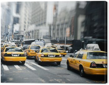 Canvastavla New York taxi