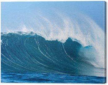 Canvastavla Ocean våg