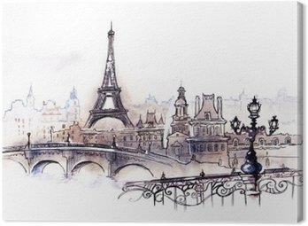 Canvastavla Paris (serie C)
