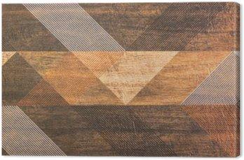 Canvastavla Plattor med geometriska former
