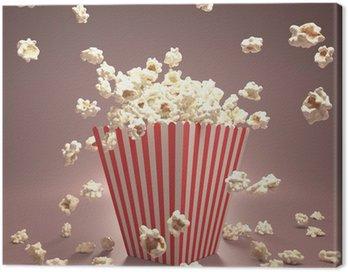 Canvastavla Popcorn Flying