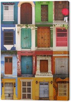 Canvastavla Portes de Carthagène, Colombie