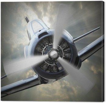 Canvastavla Propellerplan.