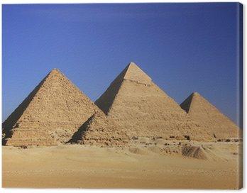 Canvastavla Pyramiderna i Giza, Kairo