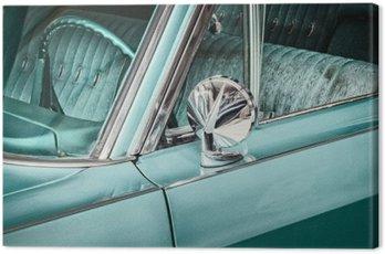 Canvastavla Retro stil detalj av en vintage bil